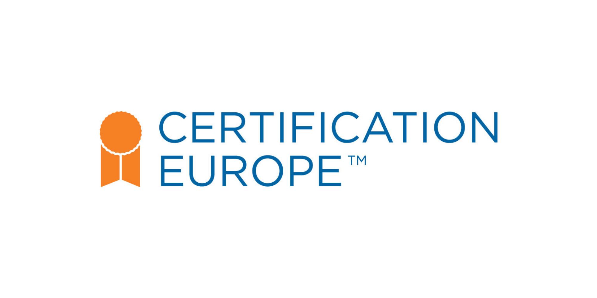 Certification Europe logo