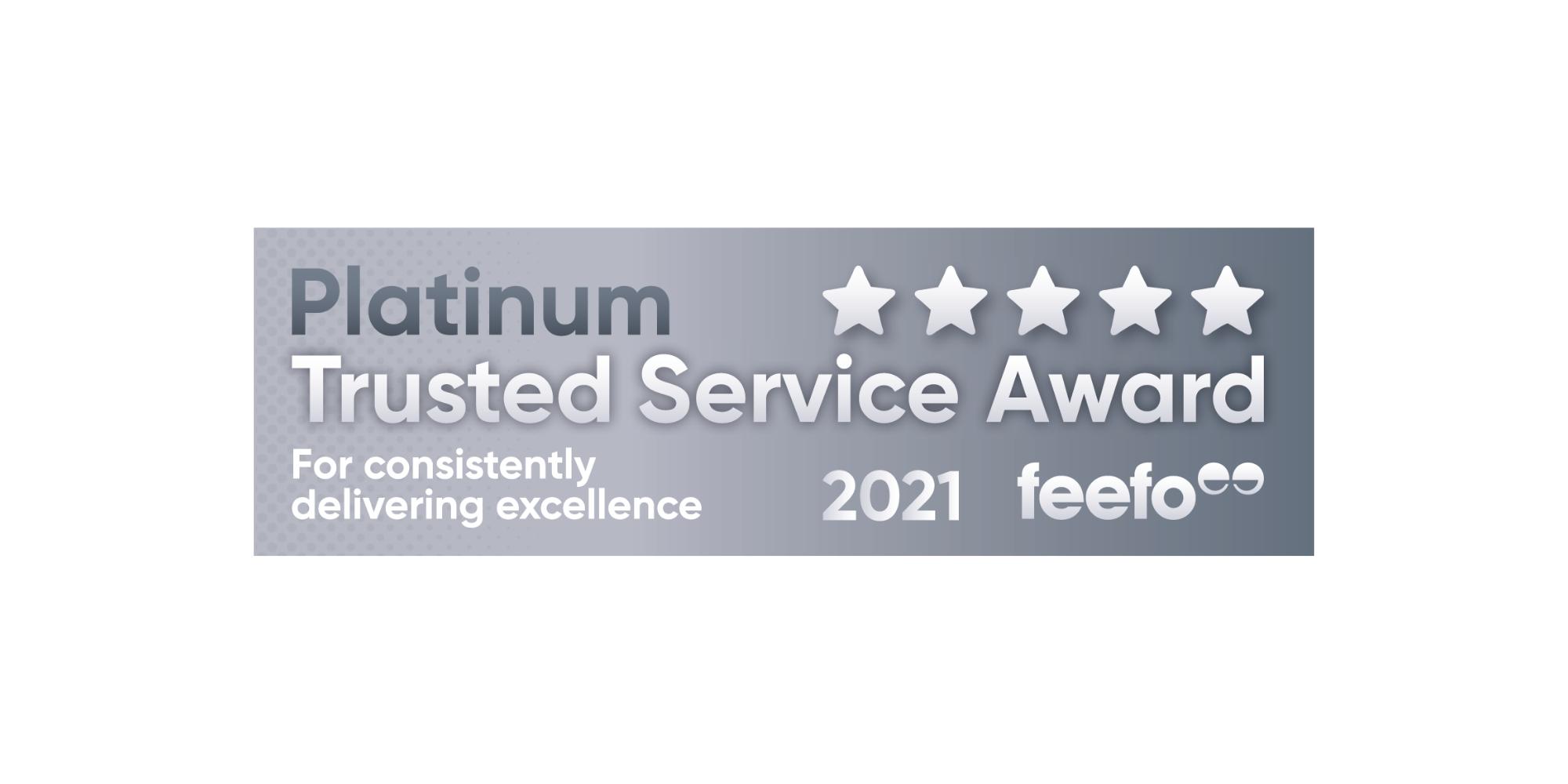 British Assessment Bureau Feefo Platinum Award Logo